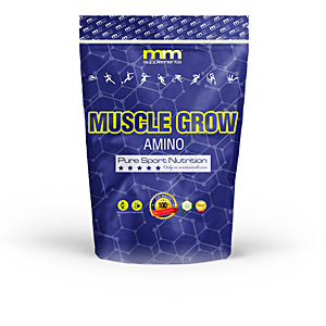 Glutamina, BCAAS, rozgałęzione - Niezbędne aminokwasy, EAA MUSCLE GROW amino #neutral Mm Supplements