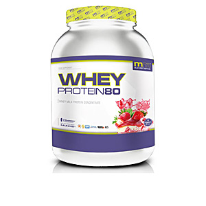 Proteína de concentrado de suero WHEY 80 #smothie strawberry Mm Supplements