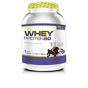 Proteína de concentrado de suero WHEY 80 #belgian chocolate Mm Supplements
