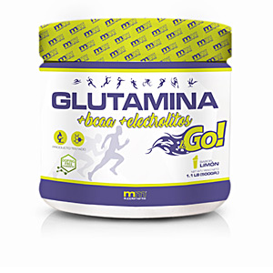 Glutamine, BCAAS, branched GLUTAMINA + BCAA + electrolitos &go #lemon Mm Supplements