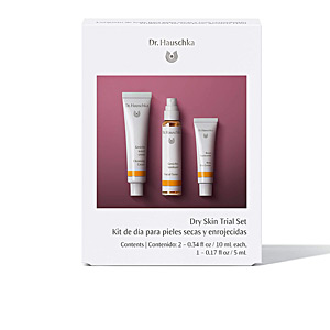 Set cosmética facial DRY SKIN TRIAL LOTE Dr. Hauschka