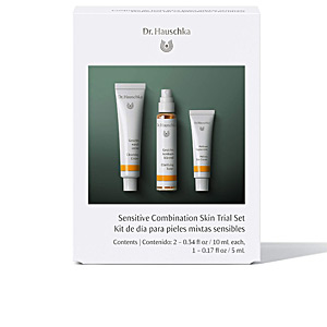Facial cleanser SENSITIVE COMBINATION SKIN TRIAL SET Dr. Hauschka