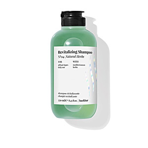 BACK BAR revitalizing shampoo nº04-natural herbs 250 ml