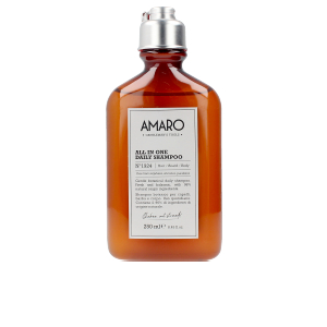 Shampooing hydratant - Savon parfumé - Soin de la barbe AMARO all in one daily shampoo nº1924 hair/beard/body Farmavita