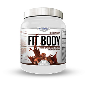 FIT BODY #chocolate bombón 400 gr