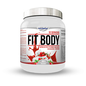 Bloqueador de grasas FIT BODY #fresas con nata Perfect Nutrition