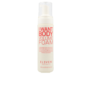 Hair styling product I WANT BODY volume foam Eleven Australia