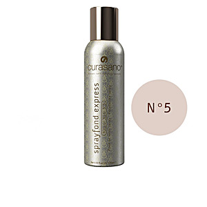 Foundation makeup - Makeup fixer SPRAYFOND EXPRESS foundation spray Curasano