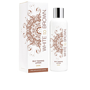 Facial SELF TANNING lotion #dark White To Brown
