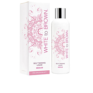 Facial SELF TANNING liquid #medium White To Brown