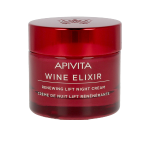 Creme antirughe e antietà - Trattamento viso rassodante WINE ELIXIR renewing lift night cream Apivita