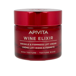 WINE ELIXIR wrinkle & firmness lift cream rich texture 50 ml