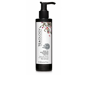 Reinigungsmilch - Gesichtsreiniger ROSE TEA moisturizing cleansing milk-oil Teaology
