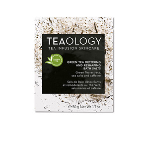 Bath salts GREEN TEA detoxing and reshaping salt bath Teaology
