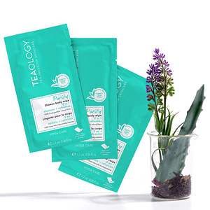 Feuchttücher PURITY shower body wipe multipack Teaology