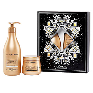 Set coiffure ABSOLUT REPAIR GOLD COFFRET