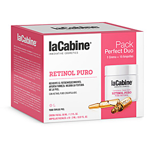 - Anti aging cream & anti wrinkle treatment - Skin tightening & firming cream  PERFECT DUO RETINOL PURO SET La Cabine