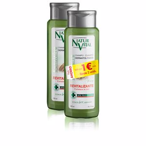 Hair gift set CHAMPÚ SENSITIVE REVITALIZANTE SET Naturvital