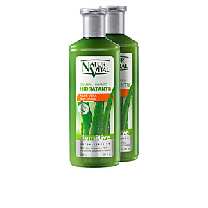 Hair gift set CHAMPÚ SENSITIVE HIDRATANTE SET Naturvital