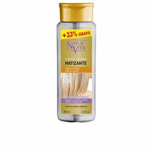 Shampooing couleur CHAMPU MATIZANTE silver blonde Naturvital