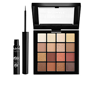 Set per il make-up DIAMONDS&ICE SHADOW&LINER COFANETTO Nyx Professional Makeup