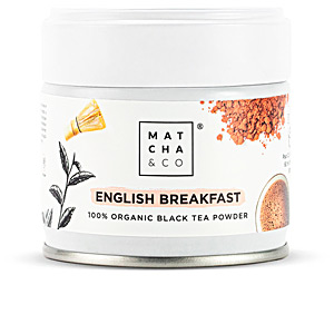 Bebida ENGLISH BREAKFAST black tea powder Matcha & Co