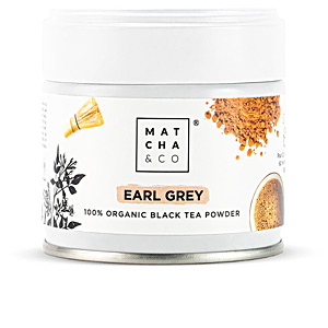 Bebida EARL GREY black tea powder Matcha & Co