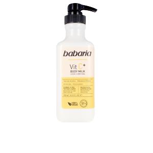 Hidratante corporal VITAMIN C+ body milk 100% vegan Babaria