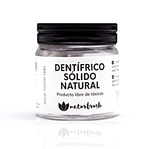 DENTÍFRICO SÓLIDO NATURAL 120 tabletas