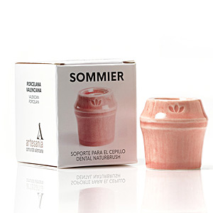 Bath Gift Sets SOMMIER soporte para cepillo dental #rojo Naturbrush
