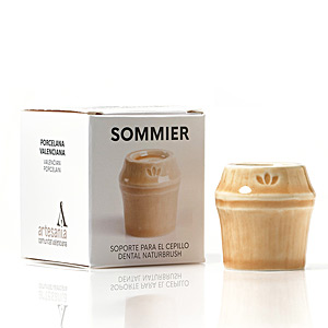 Bath Gift Sets SOMMIER soporte para cepillo dental #natural Naturbrush