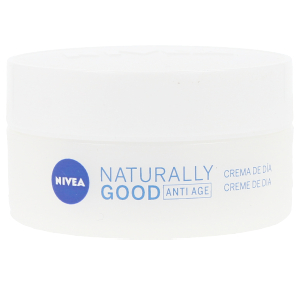Skin tightening & firming cream  NATURALLY GOOD crema antiarrugas día Nivea