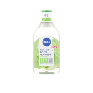 Micellar water NATURALLY GOOD agua micelar Nivea