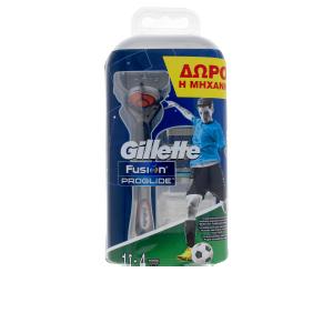 Rasierer FUSION PROGLIDE cargador 4 unidades + máquina Gillette