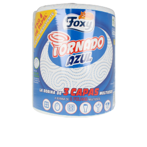 Tissues TORNADO AZUL bobina multiusos 3 capas