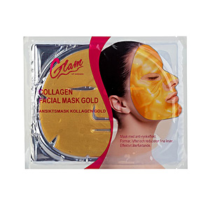 Tratamiento Facial Hidratante MASK gold face Glam Of Sweden