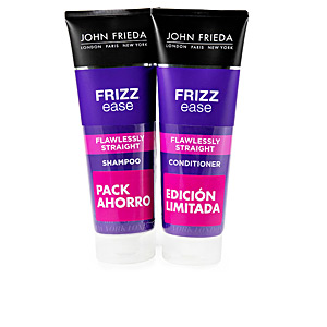 Hair straightening shampoo FRIZZ-EASE LISO PERFECTO SET John Frieda