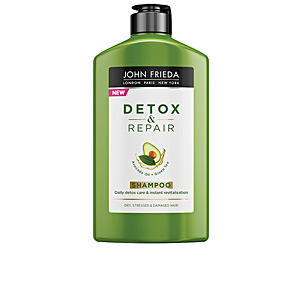 Shampoo for shiny hair DETOX & REPAIR champú John Frieda