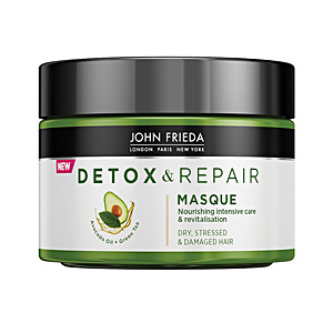 Hair mask for damaged hair DETOX & REPAIR mascarilla John Frieda