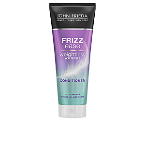 Anti frizz hair products FRIZZ-EASE weightless wonder acondicionador John Frieda