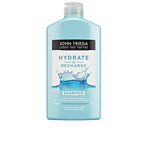 Shampoo for shiny hair HYDRATE & RECHARGE champú John Frieda