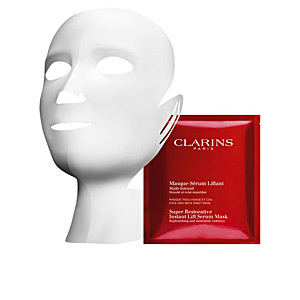 Face mask SUPER RESTORATIVE instant lift serum mask Clarins
