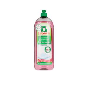 FROSCH ecológico lavavajillas frambuesa desengrasante 750 ml