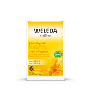 Shower gel CALÉNDULA jabón vegetal Weleda