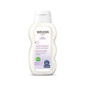 Hidratante corporal BABY DERMA leche corporal de malva blanca Weleda