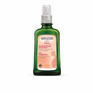 Stretch markcream & treatments MUM aceite de masaje para estrías Weleda