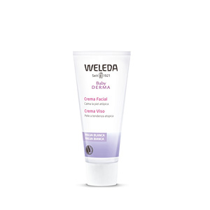Anti redness treatment cream BABY DERMA crema facial de malva blanca Weleda