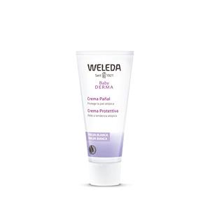 Hydratant pour le corps BABY DERMA crema pañal de malva blanca Weleda