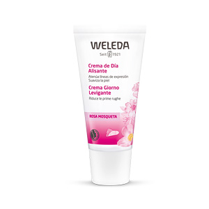Anti aging cream & anti wrinkle treatment ROSA MOSQUETA crema de día alisante Weleda