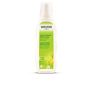 Hidratação corporal CITRUS leche corporal hidratante Weleda